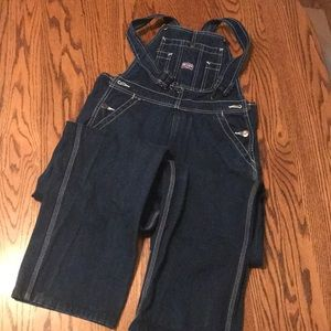 Youth bib overalls size 18! Like new!!!